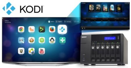 Los NAS de QNAP con HD Station pueden actualizarse a KODI