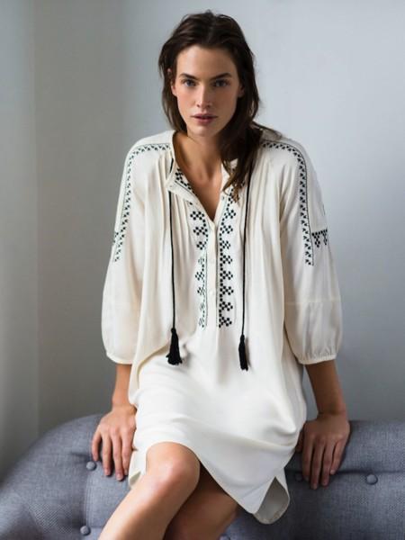 11 vestidos boho chic para lucir la tendencia de la temporada