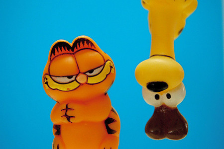 Garfield es el protagonista de una nueva línea de juguetes que se está desarrollando
