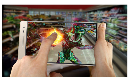 Lenovo Smartphone Phab 2 Pro Augmented Reality Gaming Phantom