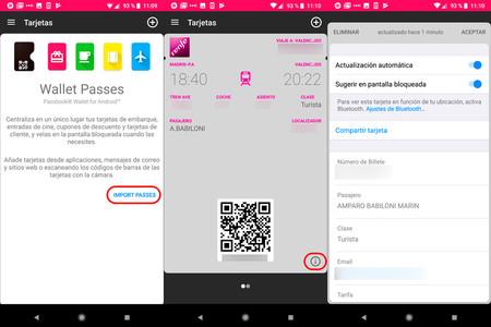 Alternativas Passbook en Android: apps para tarjetas de ...