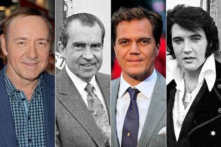 Kevin Spacey y Michael Shannon darán vida a 'Elvis & Nixon'