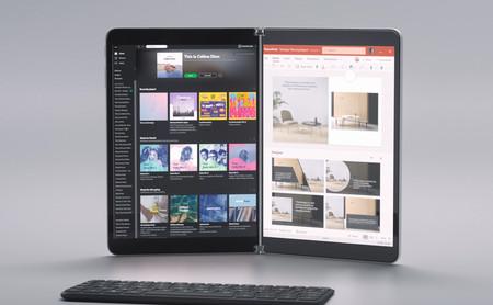 Surface Neo, el espectacular dispositivo con dos pantallas de Microsoft puede ser tablet, libro y hasta laptop al mismo tiempo