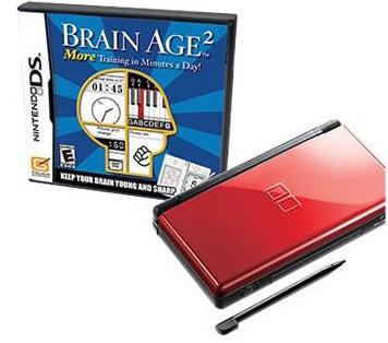 "Nintendo DS ""Onyx & Crimson"""