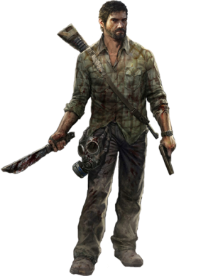 Joel The Last Of Us Render By Elemental Aura D6buxhd