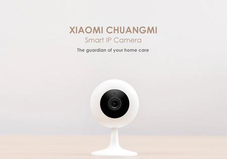 Cámara de vigilancia Xiaomi Chuangmi, con resolución 720p y conectividad WiFi, por sólo 14 euros con este cupón