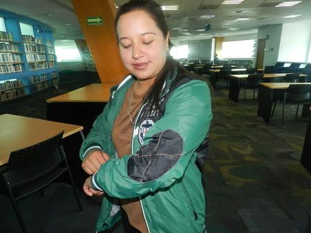 """""""Chamarra antitocamiento"""", el nuevo invento mexicano contra el acoso es una prenda con descargas eléctricas"""