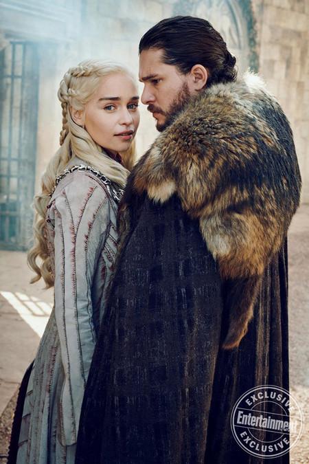 Daenerys Y Jon Teroias Juegos De Tronos