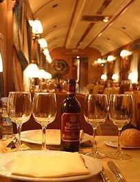 El primer tren turístico español, el Transcantábrico