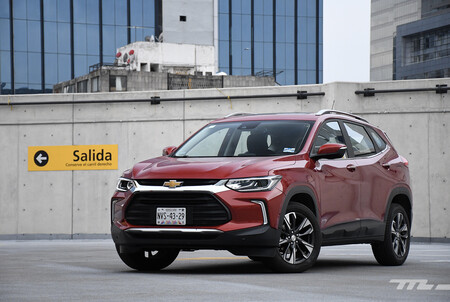 Chevrolet Tracker Vs Vw T Cross Mexico Comparativa 10