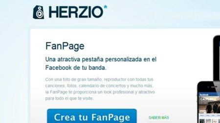 Herzio, acercando los fans musicales a sus artistas en Facebook