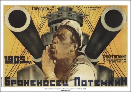 El octogenario Potemkin en televisión