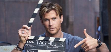 TAG Heuer & Chris Hemsworth hacen bueno el claim Don't Crack Under Pressure