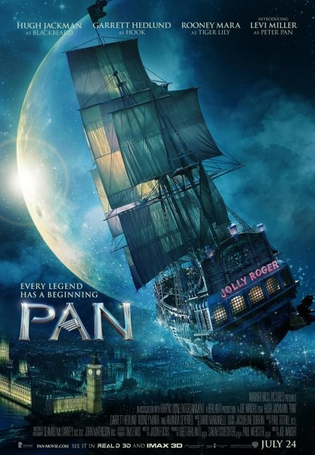Poster de Pan (Viaje A Nunca Jamas)