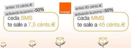 Mensamanía Orange: mensajes a mitad de precio
