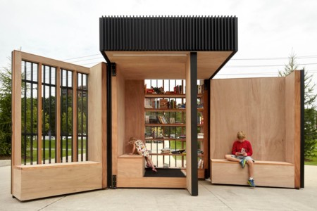 La lectura y la naturaleza se unen gracias a esta biblioteca portátil