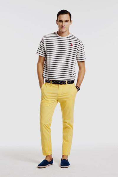 Pantalones amarillos Pedro del Hierro SS