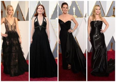 Looks En Negro Oscar 2016