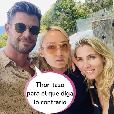 """Elsa Pataky confía en su marido Chris Hemsworth tras los rumores de infidelidad: """"Pom Klementieff es solo una amiga"""""""