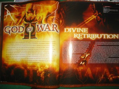 God of War 2, scans del juego