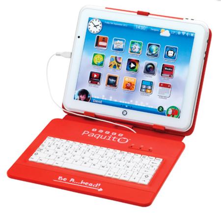 SuperPaquito de Imaginarium se vende con un teclado para utilizarlo como equipo de sobremesa
