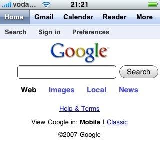 Así son las herramientas de Google preparadas para el iPhone / iPod touch