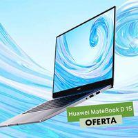También con procesador Intel: el Huawei MateBook D 15 es un moderno y ligero portátil de gama media que puedes comprar ahora en eBay rebajado a 579,99 euros