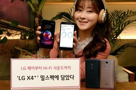 LG X4+, un gama de entrada que presume de diseño resistente y sonido en alta definición