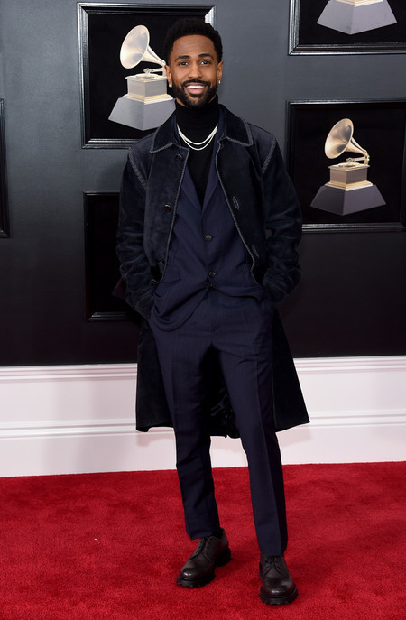 Big Sean Se Viste De Salvatore Ferragamo En Un Fallido Look Para Los Premios Grammy 2