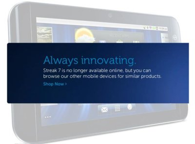 Dell Streak 7 sigue el camino final de su hermano pequeño Dell Streak 5