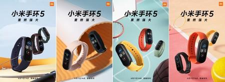 Xiaomi Mi Band 5 Monitoreo Deporte