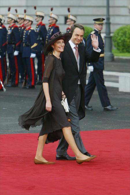 sonsoles espinosa look zapato plano boda real protocolo vestimenta