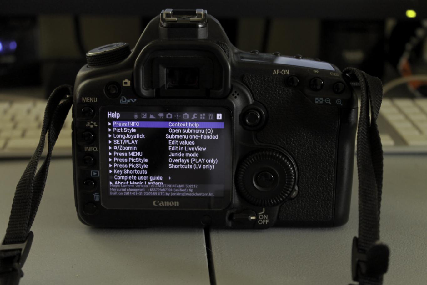 El equipo de Magic Lantern hace funcionar Linux desde cámaras Canon