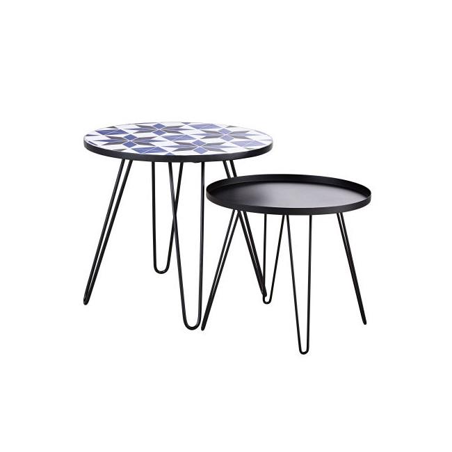 Mesas bajas - Carioca