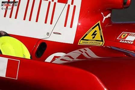 Alto voltaje en los F1