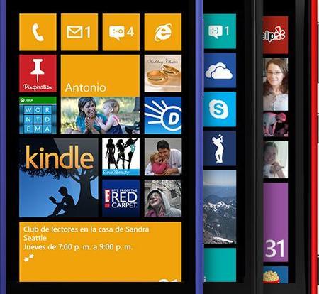 La pantalla de incio de Windows Phone 8: Mucho más personal.