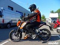 KTM 125 Duke, prueba (conducción en ciudad y carretera)