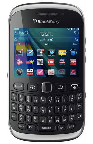 BlackBerry Curve 9320 antes de tiempo