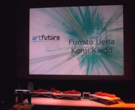 ArtFutura 2005: Fumito Ueda y Kenji Kaido