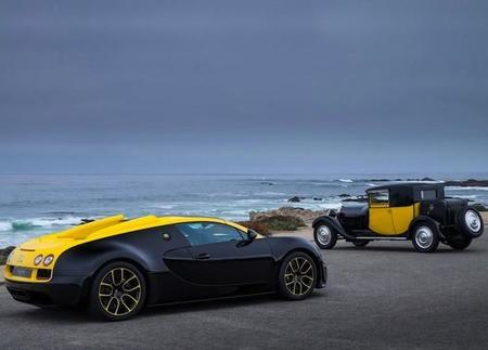 Bugatti se inspira en los modelos de antaño en su nuevo 1of1