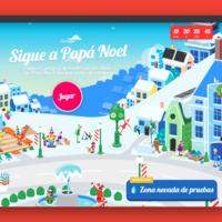 Google arranca la Navidad con nuevas actividades en Google Earth y Google Assistant, y juegos didácticos con Papá Noel