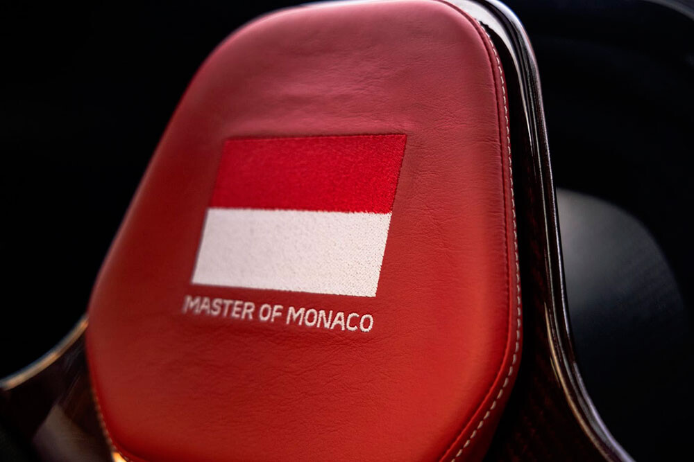 El McLaren Senna XP Master of Monaco de Post Malone, a la venta