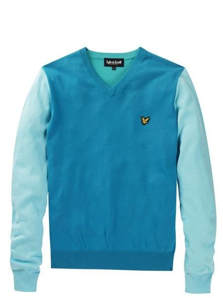 En Lyle and Scott esta primavera se lleva definitivamente el color azul
