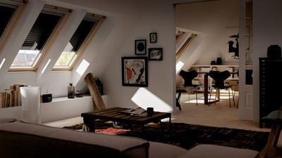 Velux Integra Active, ahorra energía con el control automático de persianas