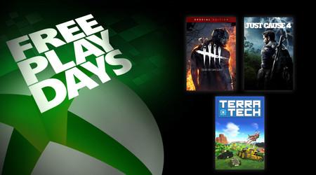 Dead by Daylight, Just Cause 4 y TerraTech estarán disponibles para jugar gratis este fin de semana en Xbox One