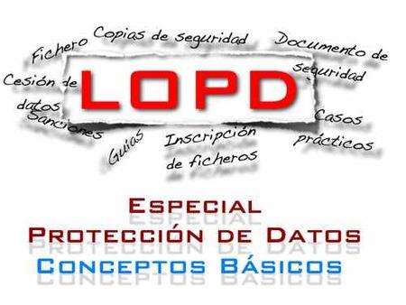 Conceptos básicos de la LOPD (IV): definiciones referidas a procesos