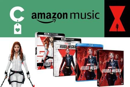Compra ahora la película de 'Viuda Negra' y consigue 90 días de Amazon Music gratis