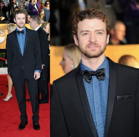 Justin Timberlake en los Annual Screen Actors Guild Awards