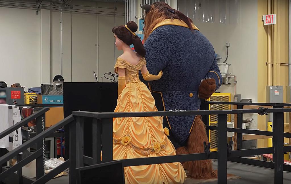 ¿Dibujo animado o robot? Disney nos muestra unos logrados animatronics de 'La Bella y la Bestia' para una nueva atracción