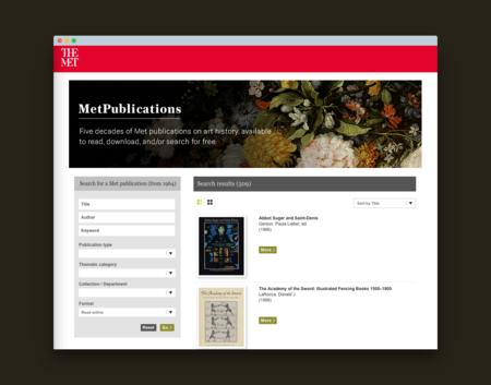 El Met te regala 574 libros de arte que puedes descargar gratis desde la web del museo